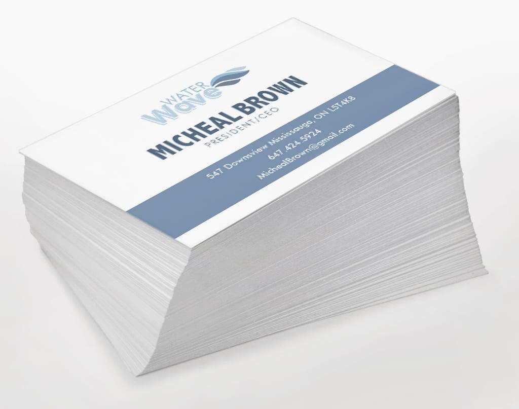 Stack of business cards acurnamedia stack of business cards reheart Choice Image